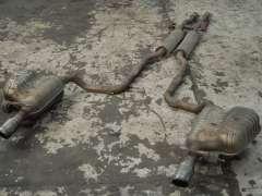 Audi A6 C6 3.2 FSi V6 Quattro Exhaust Cat Back Twin Exit  (Item #282753)