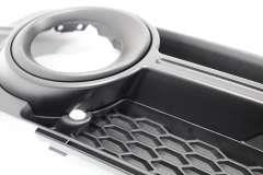 Audi A1 OS Right S-Line Lower Bumper Fog Light Grill New Genuine 8X0807682B (Item #115995)