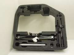 Audi A4 B8 Tool Kit Holder with Tools 8T0012109A (Item #266076)