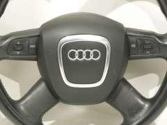 Audi A4 B7 Multi Function Leather Steering Wheel Black 8P0419091CE (Item #163722)
