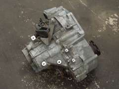 Audi A3 8P 6 Speed Manual Gearbox Type Code KNS  (Item #255069)