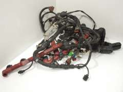 Audi S8 D3 5.2 V10 BSM Right Hand Drive Engine Wiring Loom  4E2971713CK (Item #192766)
