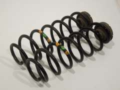 Audi A1 8X Pair Rear Springs 2 Orange 1 Green  (Item #202431)