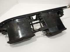 Audi A6 C7 A7 Black Front Centre Dash Vents with Aluminium Trim 4G2820951 (Item #205981)