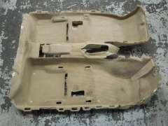 Audi A6 C7 RHD Complete Interior Floor Carpet Satin Beige 4G2863021AK (Item #206360)