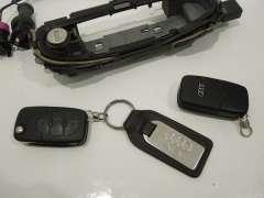 Audi A8 D2 FL Door Ignition Boot Lock and Keys Set  (Item #226128)