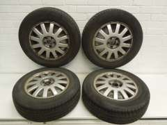 "Audi A3 15"" Genuine Multi Spoke Alloy Wheels Set of 4 8L0601025 (Item #229280)"