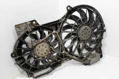 Audi A6 C6 Twin Electric Cooling Fans in Panel 4F0121003Q (Item #233375)