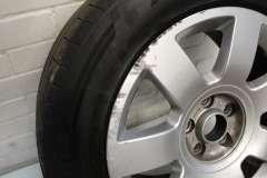 "Audi A8 D3 17"" 7 Spoke Alloy Wheel 4E0601025S (Item #233886)"