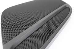 Audi A5 8T Front OS Right Speaker Cover Grill Black New 8T00354204PK (Item #234277)