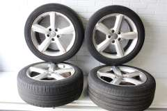 "Audi Q7 4L 20"" 5 Spoke Alloy Wheels Set of 4 4L0601025H (Item #256634)"