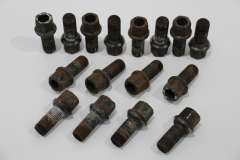 Audi Set of 16 Standard Wheel Bolts M14 x 1.5  (Item #257377)