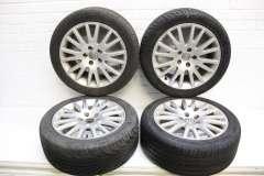 """Audi A4 B7 A6 C6 17"""" Multi Spoke Alloy Wheels Set of 4 4F0601025AK (Item #273838)"""
