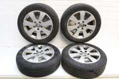 "Audi A3 8P 16"" Multispoke Alloy Wheels Set of 4 8P0601025A (Item #263363)"