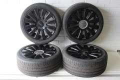 "Audi A8 D3 19"" Genuine Multi Spoke Alloy Wheels Set 4 Black 4E0601025N (Item #280335)"