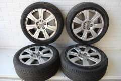 "Audi A6 C6 17"" 7 Spoke Alloy Wheels Set 4 4F0601025CB (Item #275235)"