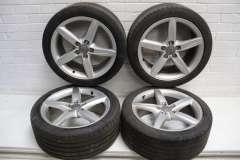 """Audi A4 B8 18"""" 5 Spoke Alloy Wheels Set of 4  8K0601025D (Item #278707)"""