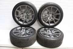 "Audi A5 8T 18"" V Spoke Grey Alloy Wheels 5 112 8T0601025E (Item #280330)"