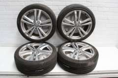 """Audi A3 S3 8V 18"""" Genuine Alloy Wheels Curbed 8V0601025AJ 8V0601025BL (Item #283436)"""