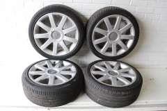 "Audi A4 A6 C6 A8 D3 4x 18"" Genuine RS4 Style Alloy Wheels  5X112 4E0601025AB (Item #285862)"