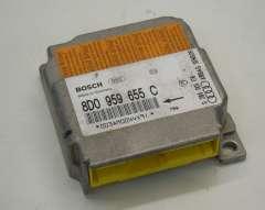 Audi A4 B5 Airbag Crash Control Module ECU 8D0959655C (Item #141749)