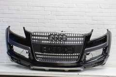 Audi Q7 4L Front Bumper + Grill Black L041 Chrome + Offroad Edition 4L0807105B (Item #290148)