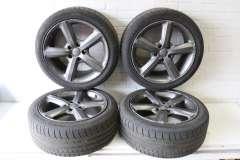 "Audi Q7 4L 20"" 5 Spoke Alloy Wheels Set of 4 Grey 4L0601025H (Item #290460)"