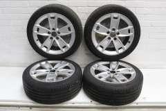 """Audi A3 8P 17"""" 5 Spoke Alloy Wheels x4  8P0601025BL (Item #293163)"""