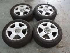 """Audi A4 B6 Set of 4 16"""" 5 Arm Alloy Wheels 8E0601025C (Item #237323)"""